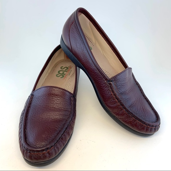 Quality Excellent In Sas Tripad Comfort Lace Up Beige Tan Leather Shoes Wm Size 7 S narrow